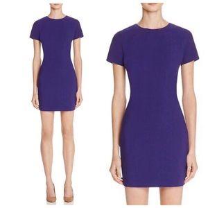 REVOLVE Likely Purple Manhattan Short Sleeve Dress